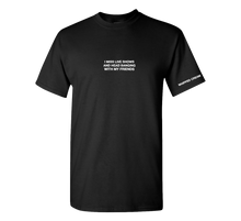 Load image into Gallery viewer, Embroidered Friends Tee (Black)