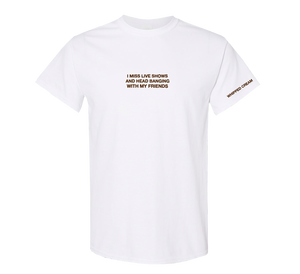 Embroidered Friends Tee (White)