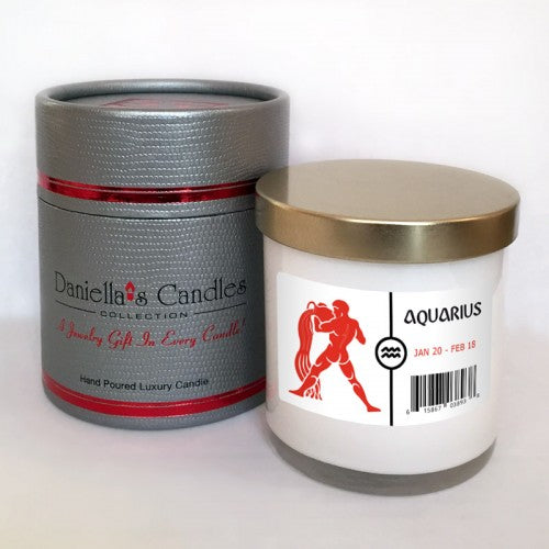 Aquarius Jewelry Aphrodisiac Candle