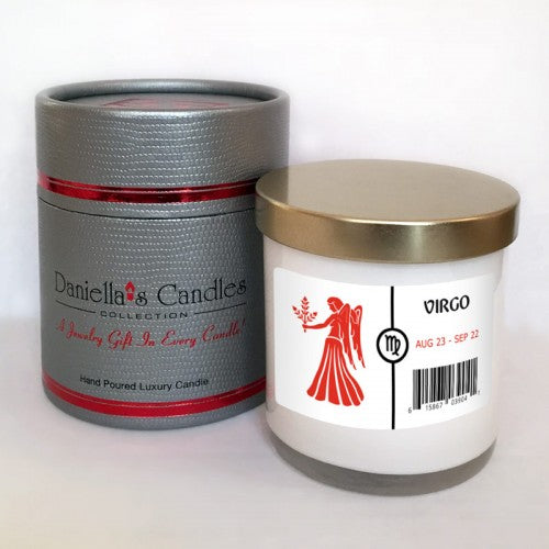 Virgo Jewelry Aphrodisiac Candle
