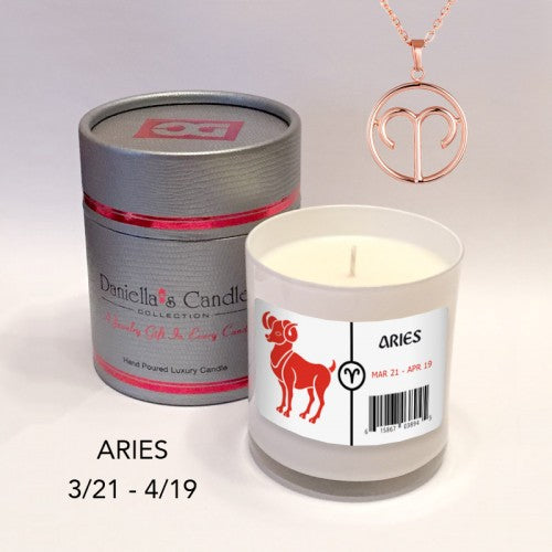 Aries Jewelry Aphrodisiac Candle