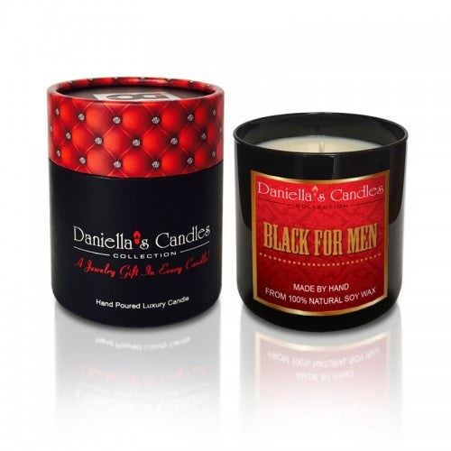 Black For Men Type Men's Jewelry Aphrodisiac Candle