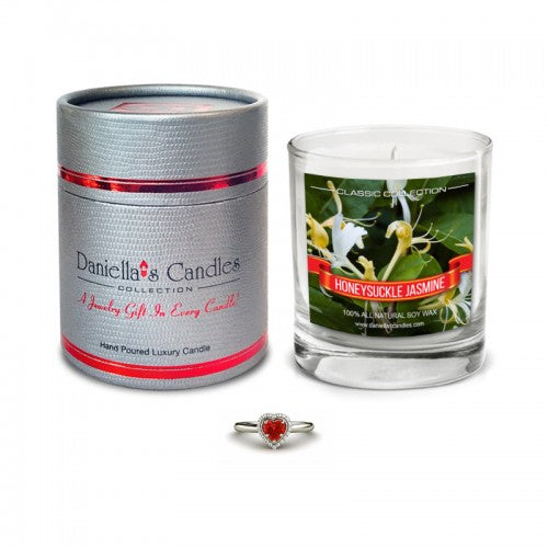 Honeysuckle Jasmine Jewelry Aphrodisiac Candle