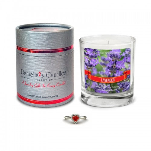 Lavender Jewelry Aphrodisiac Candle