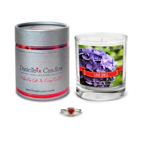 Love Spell Jewelry Aphrodisiac Candle