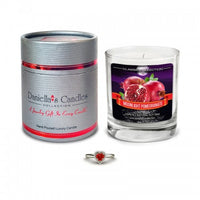 Moonlight Pomegranate Jewelry Aphrodisiac Candle