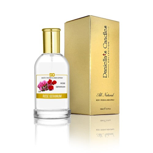 Rose Geranium - Room, Body & Linen Spray