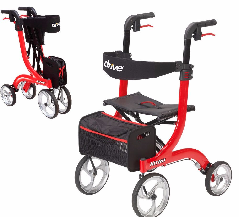Different Types of Rolling Walkers for Elderly