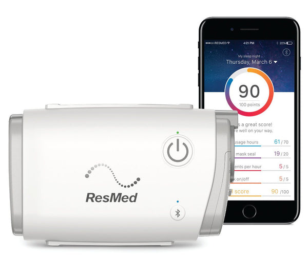 resmed air mini cpap machine travel