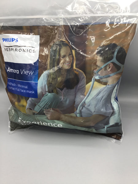 Philips Respironics Amara View fit pack contact full face mask