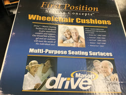 Wheelchair cushion by drive 16 in