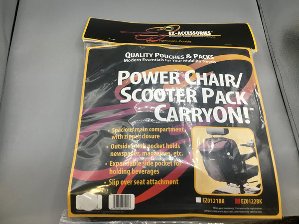 Power chair/scooter pack carryon