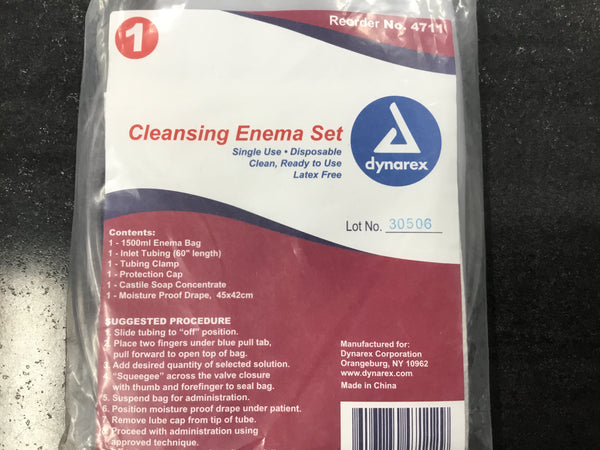 Cleansing Enema Set