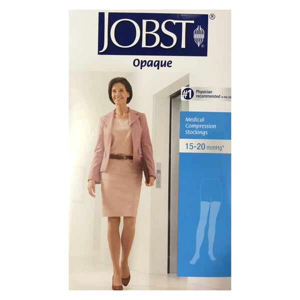 Jobst Medical Compression Stockings for women Opaque 15-20mmhg thigh