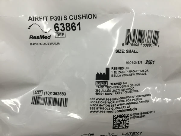 ResMed AirFit P30I S Cushion
