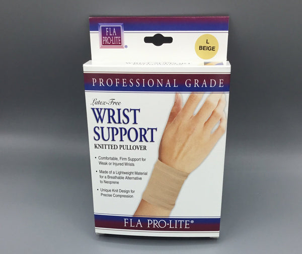 Latex-Free Wrist Support Knitted Pullover