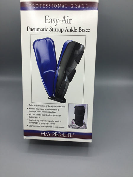 Easy-Air Pneumatic Stirrup Ankle Brace