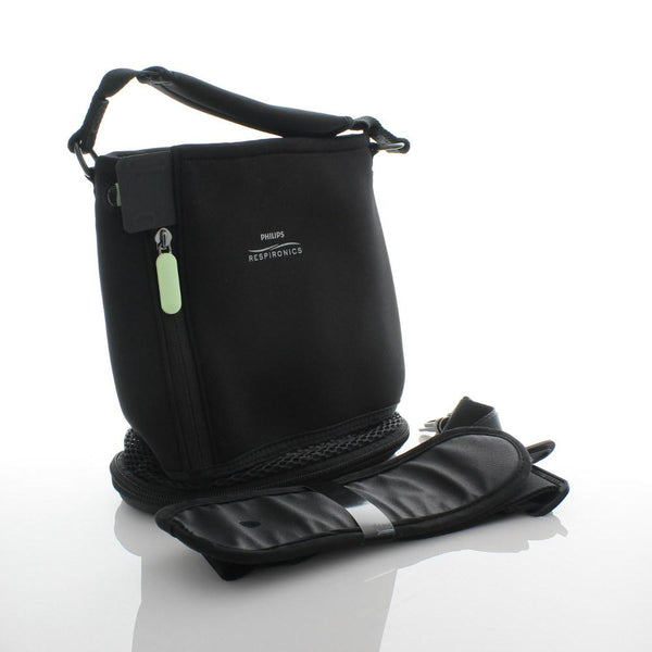 Respironcis SimplyGo Mini Black Carry Bag & Strap