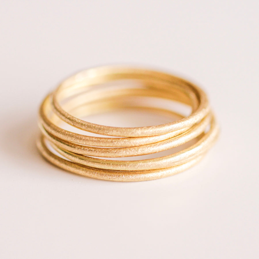 Golden Thread Band 18k