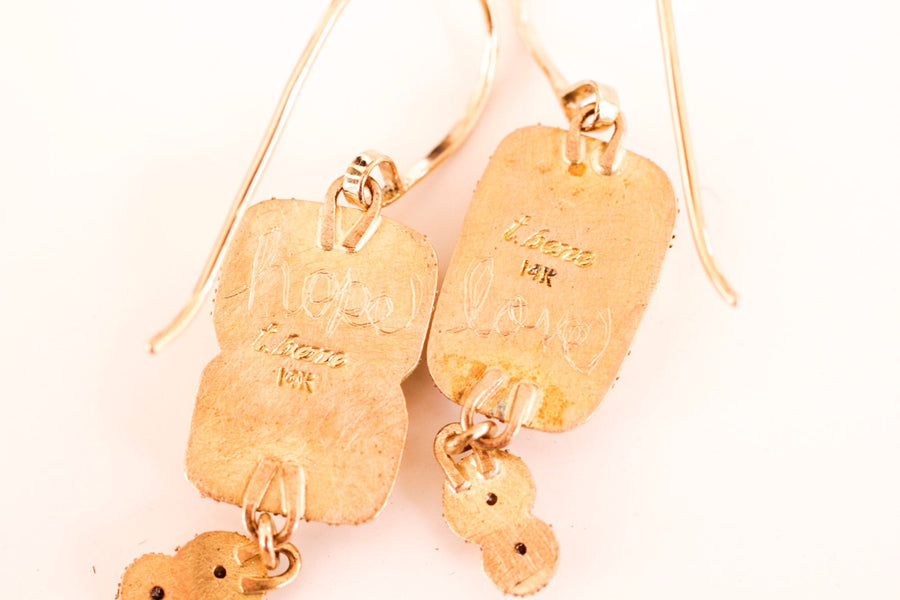 Hope and Love Earrings