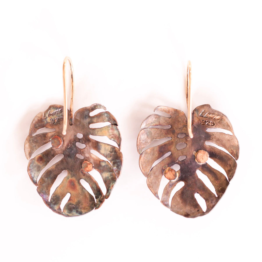Monstera Diamond Earrings