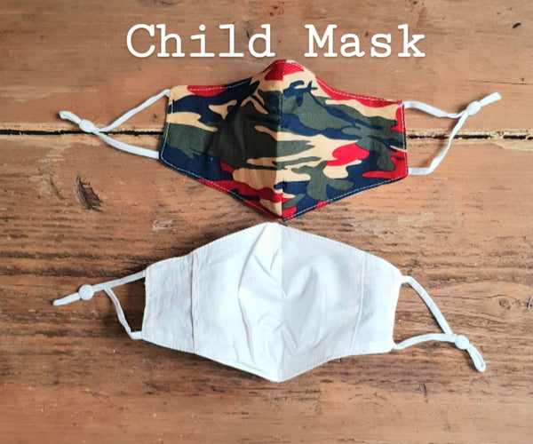 Children's Camouflage - 100% Cotton - Age 2 - 10