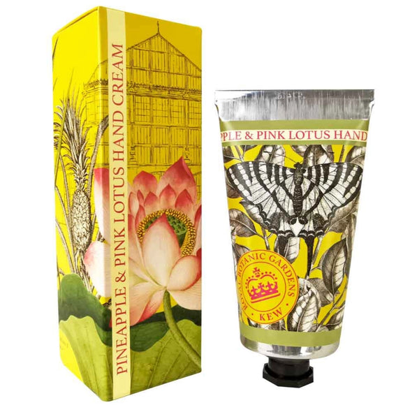Pineapple & Pink Lotus Hand Cream - Royal Botanic Gardens Kew