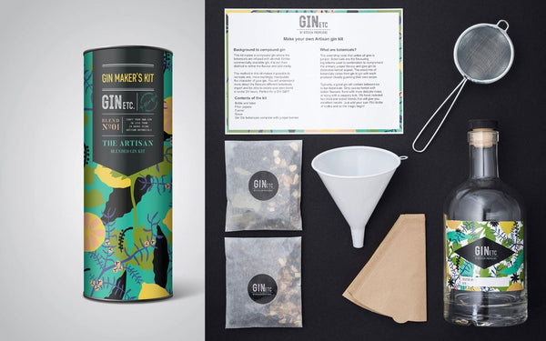GIN ETC - The Artisan Gin Maker's Kit