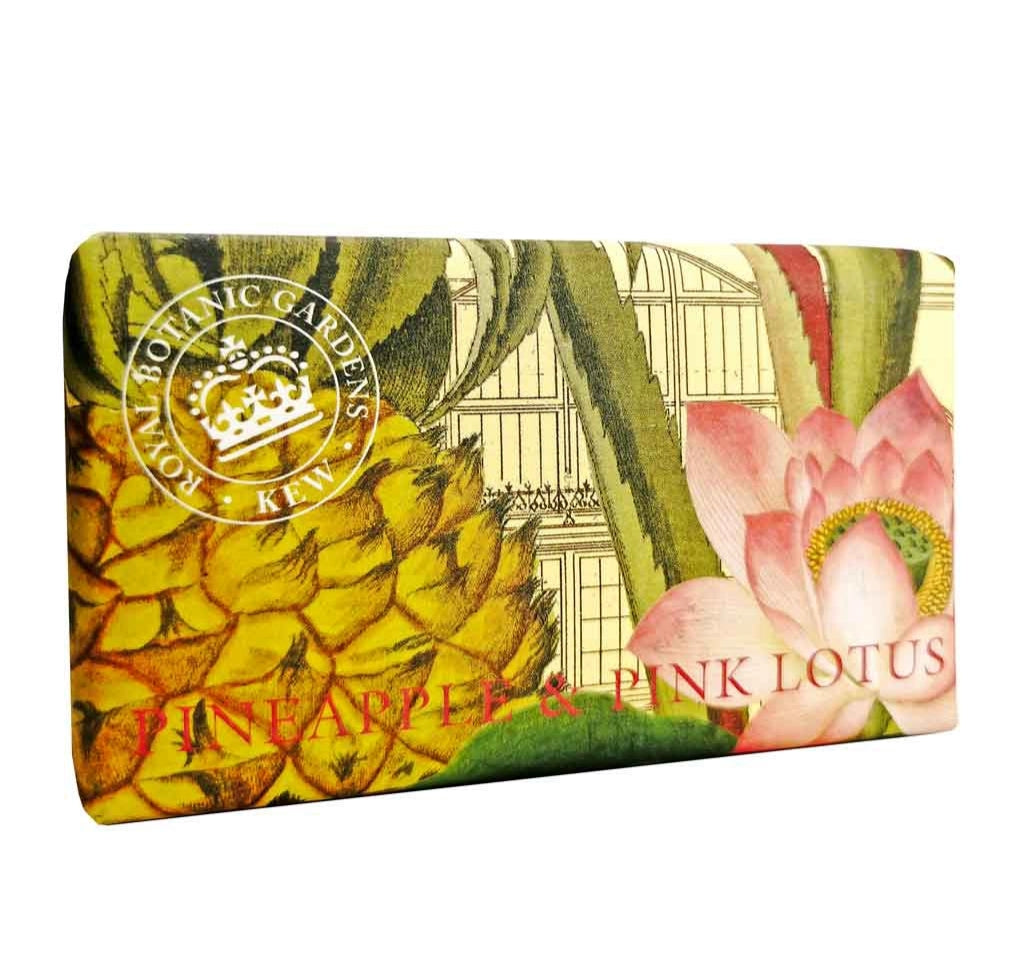 Royal Botanic Gardens Kew - Pineapple and Pink Lotus Soap