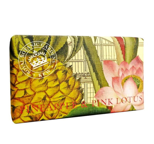 Kew Gardens Pineapple and Pink Lotus Soap