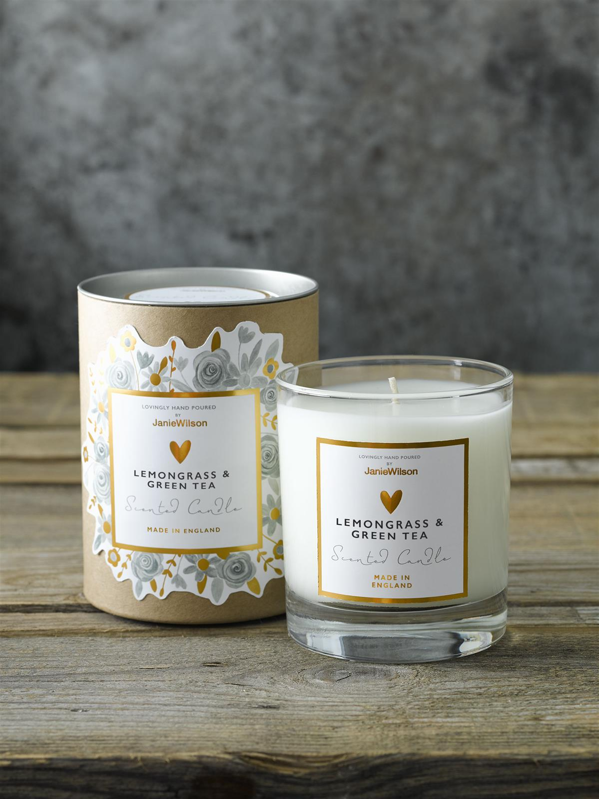 Lemongrass & Green Tea Candle