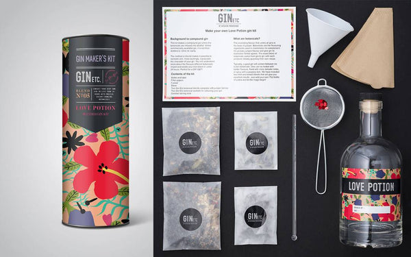 GIN ETC - Love Potion Gin Maker's Kit