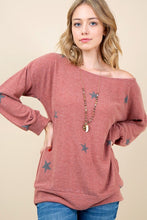 Cashmere Star Top