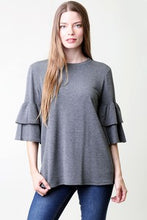 Tiered Sleeve Top