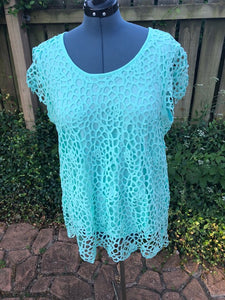 Crochet design Split Back Top