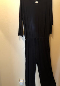 Black One-Piece Pantsuit