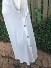 Off White Side Button Top