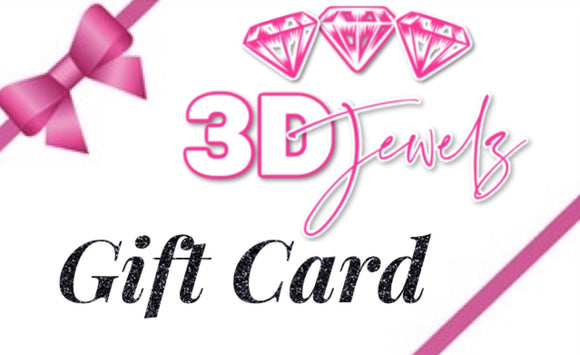 3D Jewelz Gift Cards