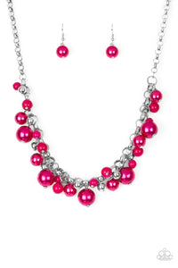 The Upstater Pink Necklace - Paparazzi Accessories