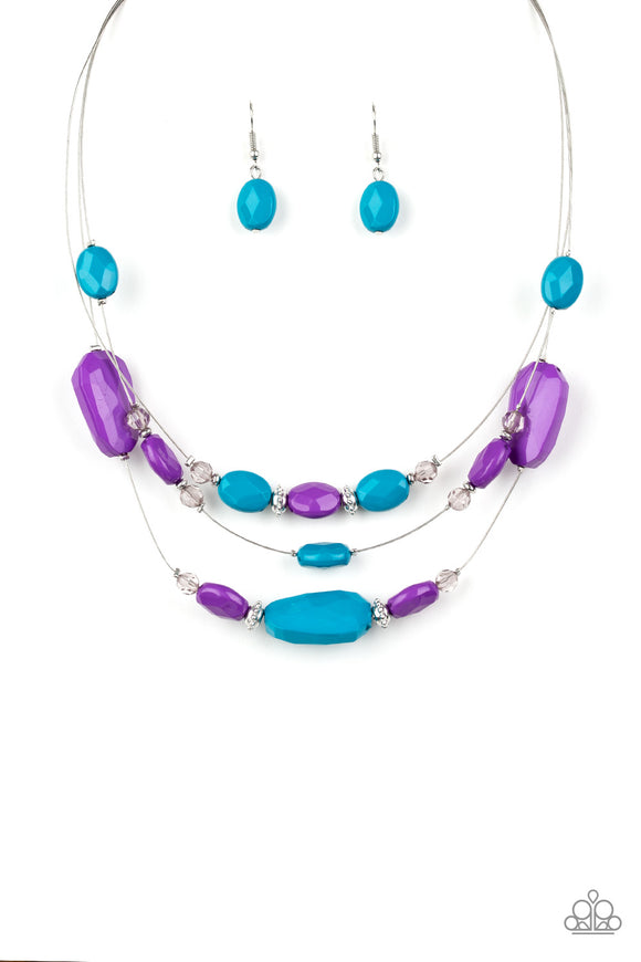 Radiant Reflections Multi Necklace - Paparazzi Accessories