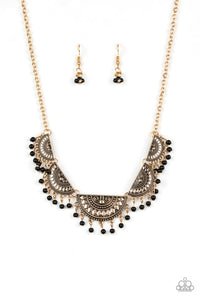 Boho Baby Gold Necklace - Paparazzi Accessories