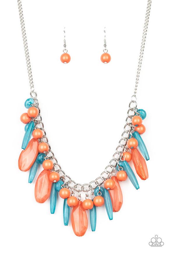 Miami Martinis Multi Necklace - Paparazzi Accessories