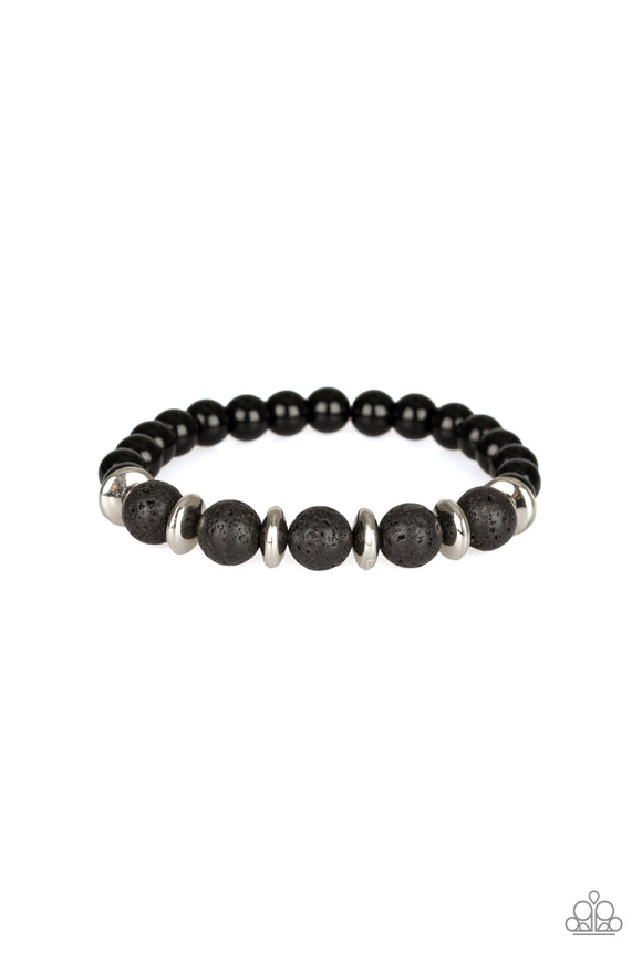 Truth Silver Urban Bead Bracelet - Paparazzi Accessories
