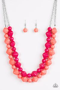 Rio Rhythm Multi Necklace - Paparazzi Accessories - jazzy-jewels-gems