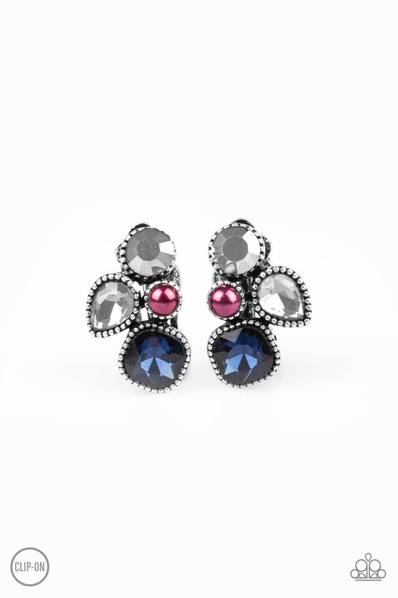 Super Superstar Multi Clip-On Earring - Paparazzi Accessories