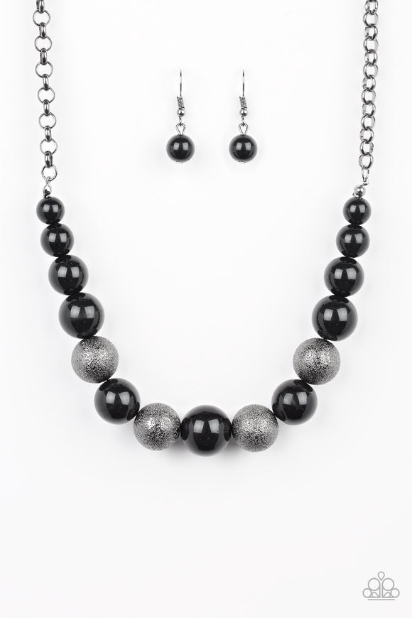 Color Me CEO Black Necklace - Paparazzi Accessories