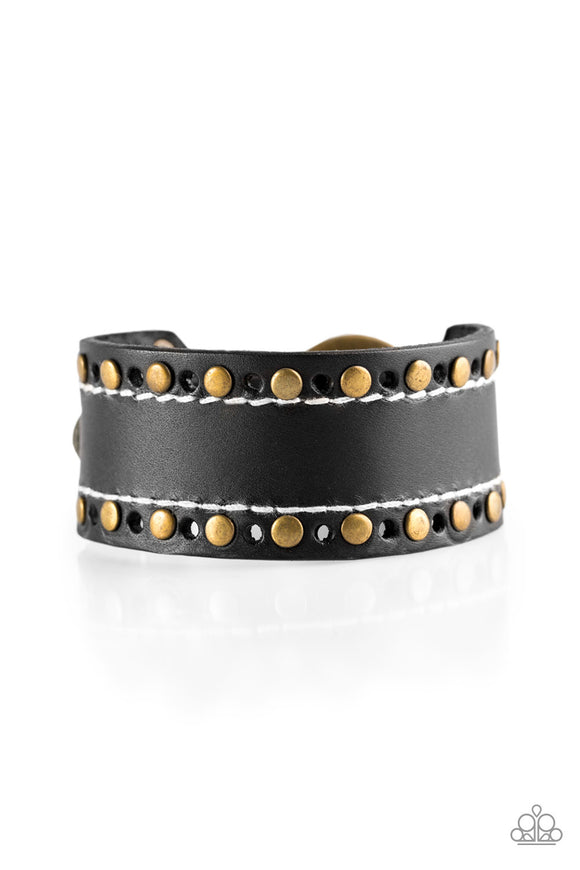 The WANDER Years Black Urban Bracelet - Paparazzi Accessories