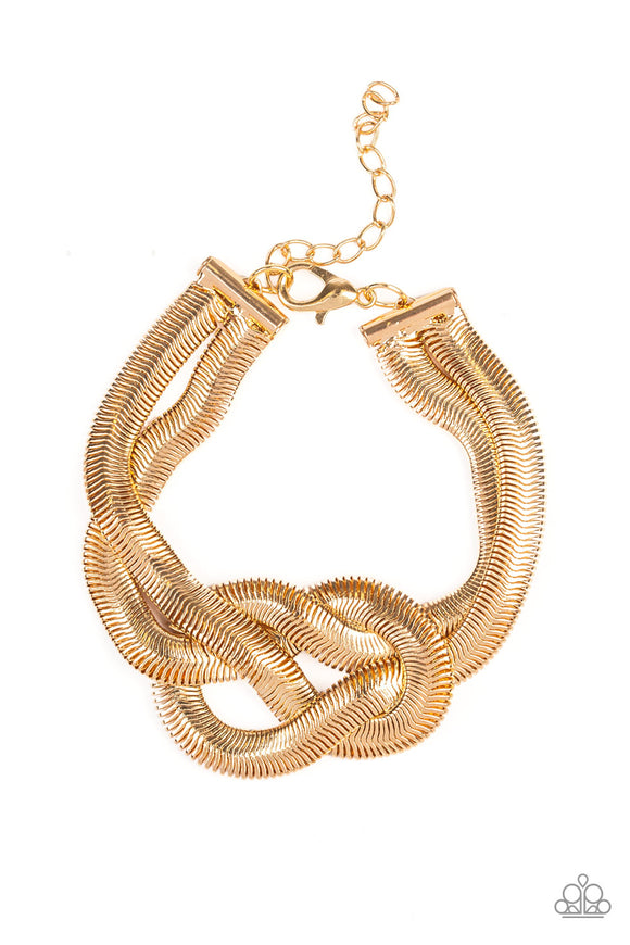 To The Max Gold Bracelet - Paparazzi Accessories