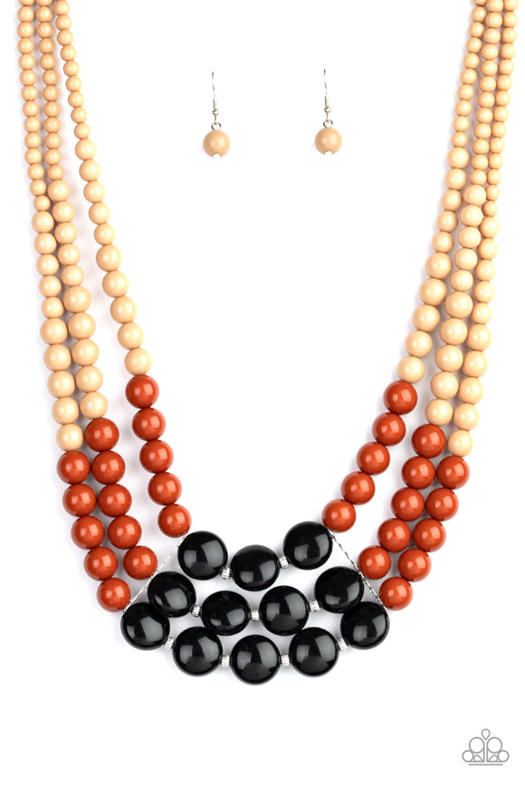 Beach Bauble Multi Necklace - Paparazzi Accessories