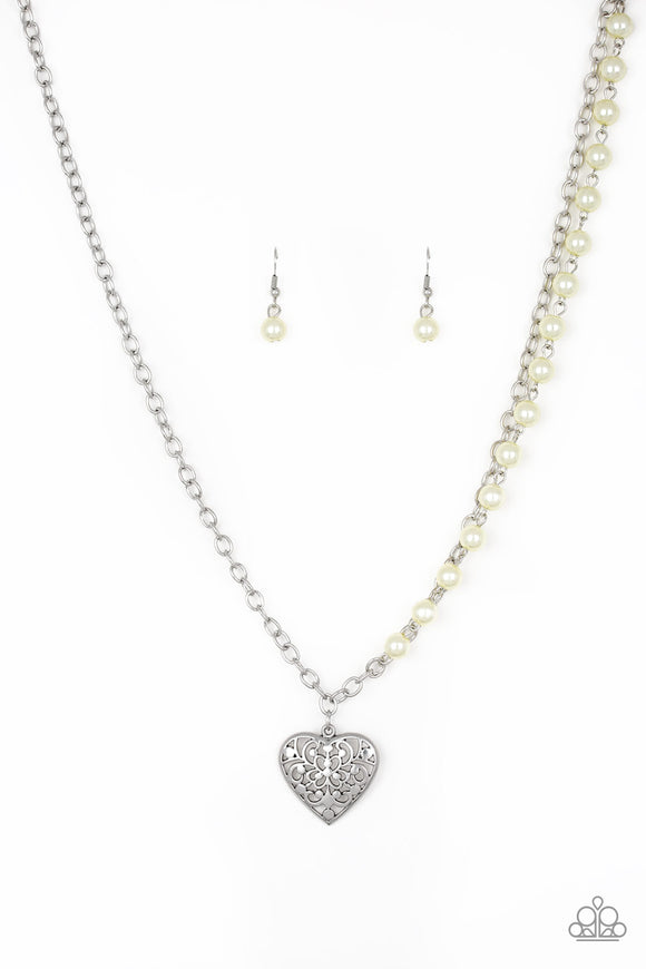 Forever In My Heart Yellow Necklace - Paparazzi Accessories